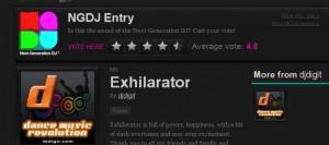Next Generation DJ Entry - Exhilarator